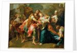 Hector Bidding Farewell to his Son and Andromache by Jean Bernard Restout