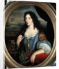Portrait of an Unknown Learned Woman in Front of the Paris Observatory by French School