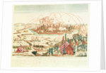 The Siege of Danzig under the command of Marshal Pierre Joseph Lefebvre and the Surrender of the Town by French School
