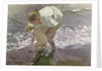 Bathing on the Beach by Joaquin Sorolla y Bastida