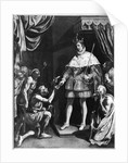 St. Louis Distributing Alms by Luis Tristan de Escamilla