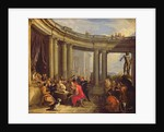 Concert in a Circular Gallery by Giovanni Paolo Pannini or Panini