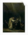 The Last Communion of St. Joseph Calasanz by Francisco Jose de Goya y Lucientes