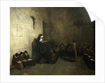 Interior of a School for Orphaned Girls by Francois Bonvin