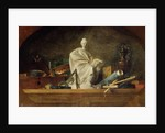 Attributes of the Arts by Jean-Baptiste Simeon Chardin
