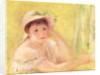 Woman in a Straw Hat by Pierre Auguste Renoir