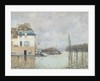 The Flood at Port-Marly by Alfred Sisley