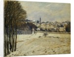 The Snow at Marly-le-Roi by Alfred Sisley
