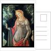 Primavera, detail of Venus by Sandro Botticelli