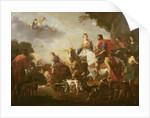 Dido and Aeneas Hunting by Jan van Bike Miel