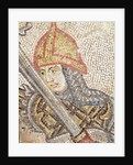 A soldier with a sword by Veneto-Byzantine School