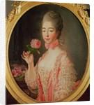 Marie-Josephine Louise de Savoie Comtesse de Provence by Francois-Hubert Drouais