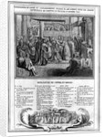 Consecration and Coronation of Henri IV at the Chartres Cathedral on the 27th January 1594 by French School