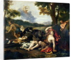 Adonis Killed by a Wild Boar by Francesco Albani