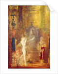 Salome dancing before Herod by Gustave Moreau