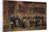 Council of Ministers at the Tuileries Signing the Law of Regency by Claude Jacquand