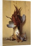 Still Life with a Hare, a Pheasant and a Red Partridge by Jean-Baptiste Oudry