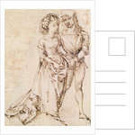 A Young Couple by Albrecht Dürer or Duerer