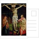 The Crucifixion, c.1525 by Matthias Grunewald