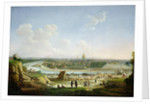 General View of Paris from the Chaillot Hill by Seyfert