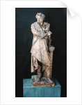 Statue of Alexandre Dumas Pere by Albert-Ernest Carrier-Belleuse