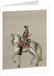 Equestrian portrait of Prince Charles de Beauveau-Craon by Pierre Antoine Lesueur