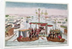 The Meeting between Napoleon I and Tsar Alexander I at Niemen by French School