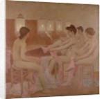 The Dancers by Fernand Pelez