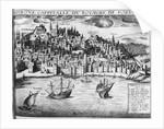 View of Lisbon by French School