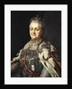 Portrait of Catherine II of Russia by Alexander Roslin