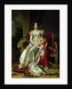 Hortense de Beauharnais Queen of Holland and her Son, Napoleon Charles Bonaparte by Francois Pascal Simon