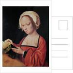 St. Mary Magdalene Reading by Adriaen Isenbrandt or Isenbrant