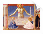 Christ Rising from his Tomb, detail of the predella panel of the Coronation of the Virgin by Fra Angelico