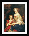 A Woman and her Son by Pierre Mignard