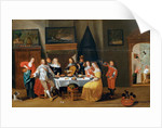 The Feast by Flemish School