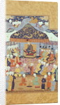 A Princely Reception by Persian School
