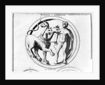 Cerberus Tamed by Hercules by French School