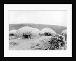 Kaffir Huts, South Africa by French Photographer