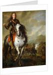 Equestrian Portrait of Prince Eugene de Savoie by Flemish School