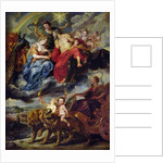 The Medici Cycle: Meeting of Henri IV and Marie de Medici at Lyon on 9th September 1600 by Peter Paul Rubens