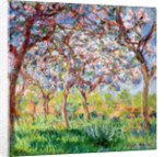 Printemps a Giverny by Claude Monet