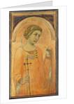 A Female Saint, possibly St. Margaret by Pietro Lorenzetti