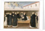 The Death of St. Dominic by Fra Angelico