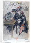 A Prostitute and her Client by Georges Bottini
