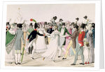 An Evening at the Tuileries in July 1815 by French School