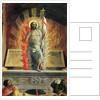 The Resurrection, right hand predella panel from the Altarpiece of St. Zeno of Verona by Andrea Mantegna
