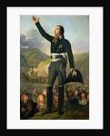 Portrait of Louis-Marie de Salgues Marquis de Lescure by Robert Lefevre