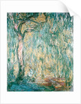 The Large Willow at Giverny by Claude Monet