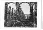 Ruins of the Cour des Comptes during the Commune of Paris by French Photographer