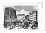 Insurrection in Berlin in April 1848 by German School